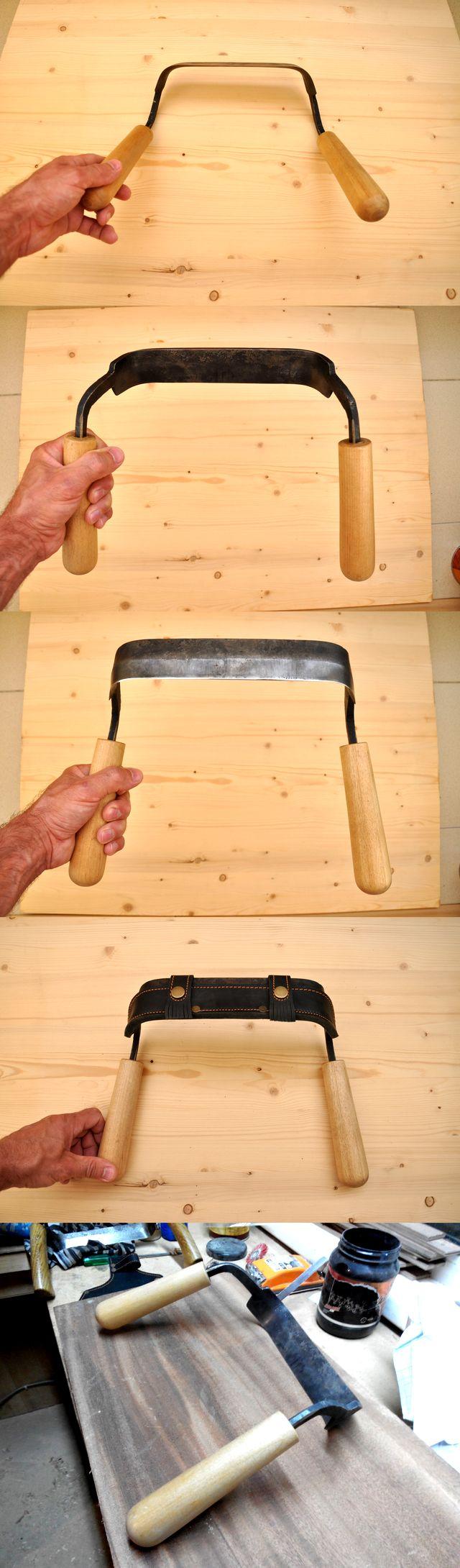 Нож Тайга, дамасская сталь